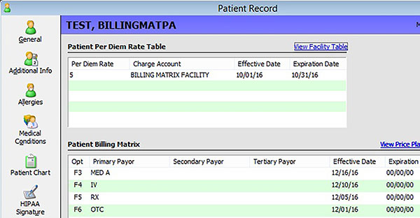 Patient Record