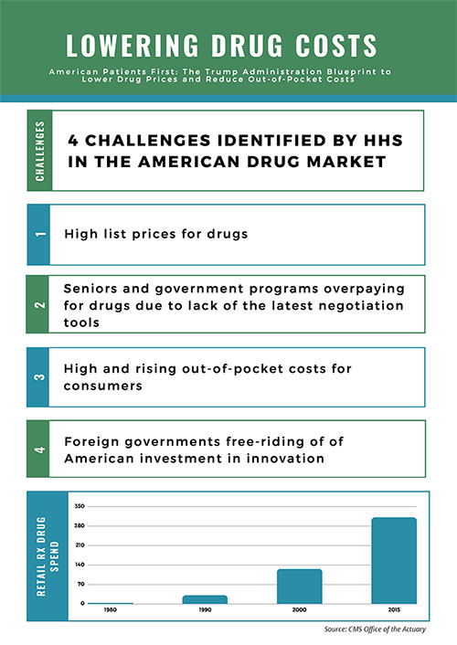 Lowering Drug Costs Infographic