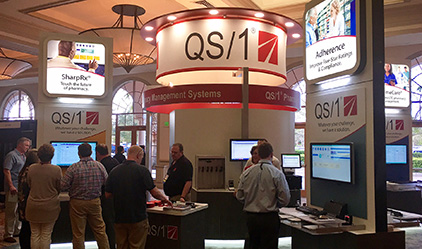 QS1 Conference Booth