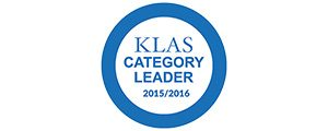 KLAS Category Leader 2015/2016