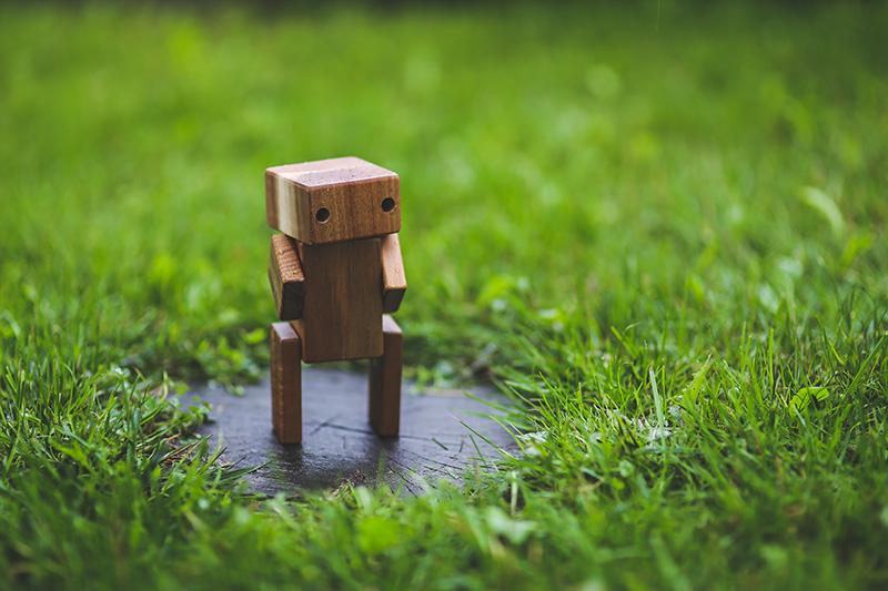 AI Wooden Robot