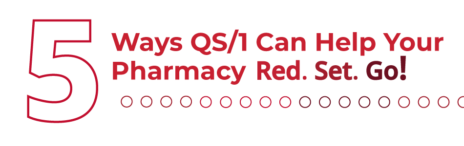 5 Ways QS/1 Can Help Your Pharmacy