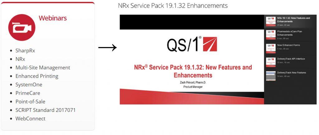 Screenshot: NRx Webinars