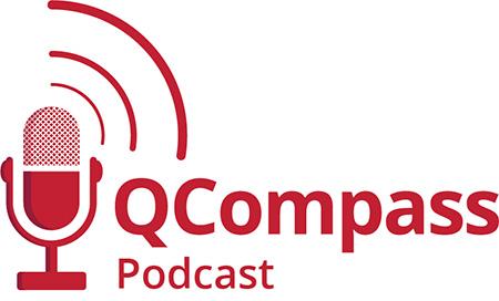 QCompass Podcast Logo