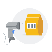 Pointy Scanning Product Illustration